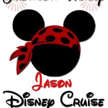 Personalized Family Vacation Disney Cruise Shirts T-shirt Mickey Minnie Cute! #6