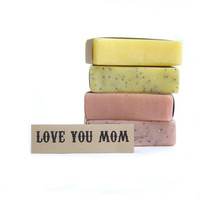 MOTHERS DAY soap set, Natural soap, unscented soap, vegan soap, womens gift set, soap,