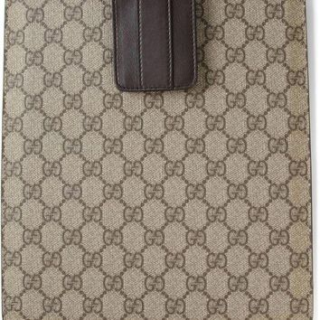 DCCKIN3 Gucci signature monogram iPad case