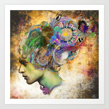 Marinella Art Print by archann
