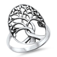 Mystical Branches Tree of Life .925 Ring
