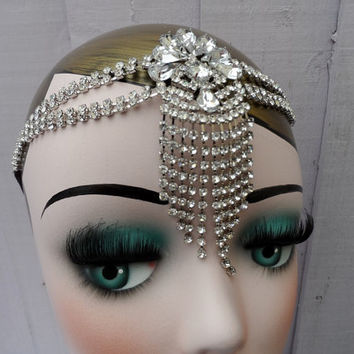 Stunning roaring 1920s Great Gatsby fancy dress hen party prom birthday headband
