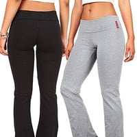 Bundle Pack Active Women's Juniors Stretchy Gym Yoga Pants