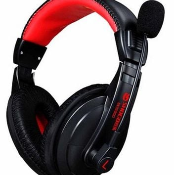 2017 HOT! Head Mounted Subwoofer Super Bass Stereo headset Earphone tide computer games Gaming Headset with Mic for PC Gamer