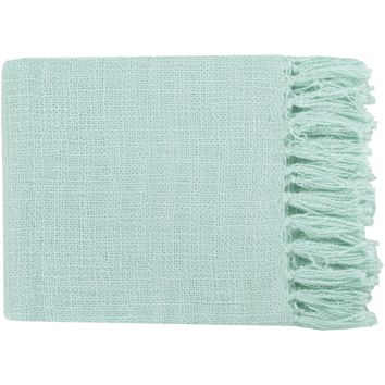 Tilda Throw ~ Mint