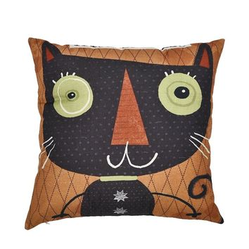 Cushion Cover Decorations For Home Cotton Linen Pillow Cases Cat Dog Bird Animals Throw Pillow Cover 450mm*450mm