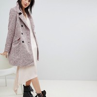 Vero Moda double breasted coat at asos.com