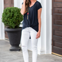 Found Your Way Top, Black