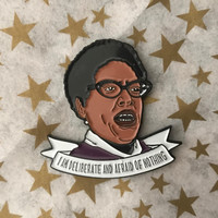 "Audre Lorde ""I Am Deliberate..."" -- Enamel Pin"