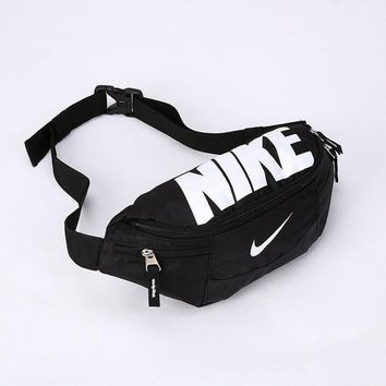 Unisex Black Sports Bags Outdoor Travel Bag
