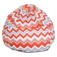 Orange Zazzle Small Classic Bean Bag