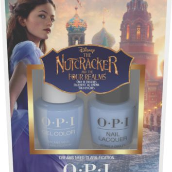 OPI GelColor & Lacquer - Nutcracker Dreams Need Clara-fication Duo Pack #1