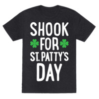 SHOOK FOR ST. PATTY'S DAY T-SHIRT