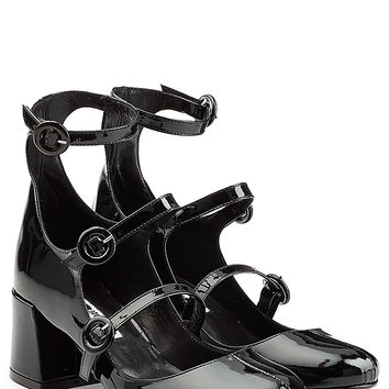 McQ Alexander McQueen - Patent Leather Mary Jane Pumps