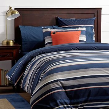 Stand Out Stripe Duvet Cover + Sham