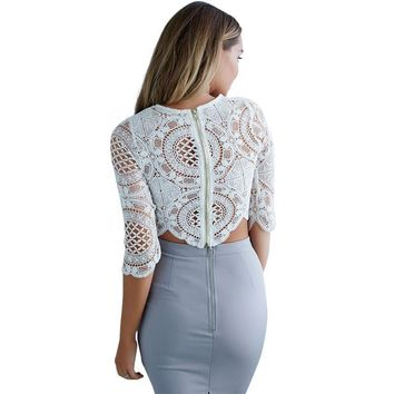 Nyack Chic Lace Crop