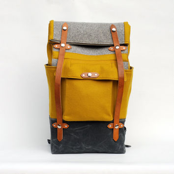 The Ochre Felt Camper