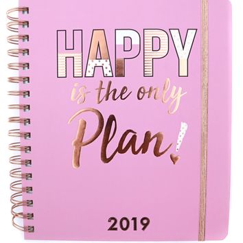 3 Happy Hooligans: 2019 Planner {Happy is the Only Plan}