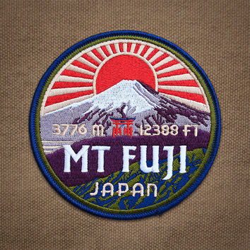 Mt Fuji Patch