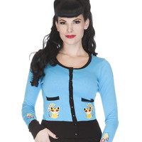 Voodoo Vixen Chinese Kitten Love Cardigan