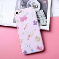 Sailor Moon Phone Case for iphone 6/6s/6plus/7/7plus from pennycrafts