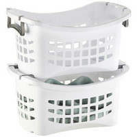 The Container Store  Stacking Laundry Basket