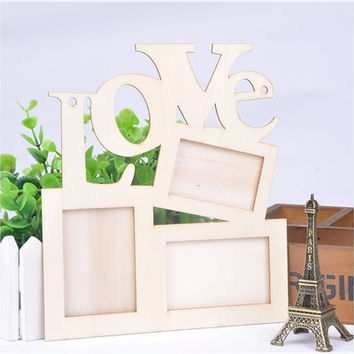 Fashion Love Wooden Photo Frame [7983468487]