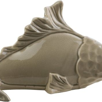 Clearwater Coastal Fish Olive, Light Gray