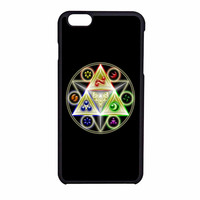 Nintendo Triforce Zelda three iPhone 6 Case