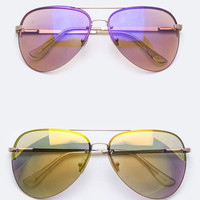 Tiger Fan Aviator Sunglasses
