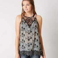 GIMMICKS EMBROIDERED TANK TOP
