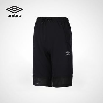 Umbro 2018 Summer New Male Sports Shorts Breathable Trousers UI182AP2717