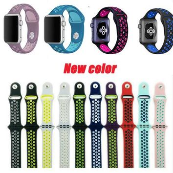 Colorful Replacement Bands for Apple iWatch 38mm/42mm