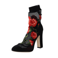Rose Sock Bootie | Marissa Collections
