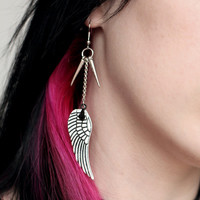 Wings and Spikes Earrings
