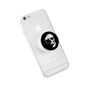 Skull Collapsible Grip & Stand for Phones and Tablets