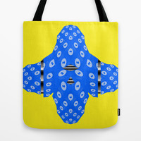 Shape and Circles Tote Bag by Antoine's  Vision