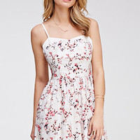 Watercolor Floral Cami Sundress