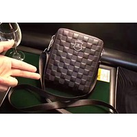 LV Louis Vuitton DAMIER INFINI LEATHER CROSS BODY BAG