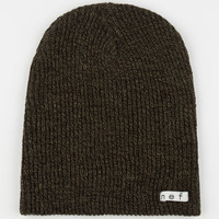 Neff Daily Heather Beanie Olive/Black One Size For Men 24589553101