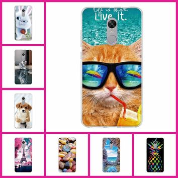 3D Cover For Xiaomi Redmi Note 4X Pro Case Soft Silicone TPU Fundas Coque For Redmi Note 4X 4 X Phone Cases 3D Cute Animal Bag