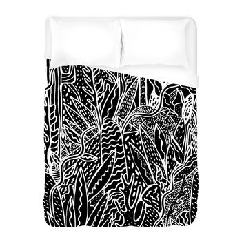 Jardin Copia Duvet Cover