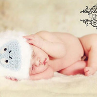 Abominable Snowman made to order newborn by babycuddlesboutique