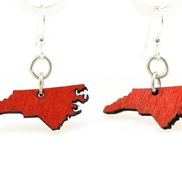 North Carolina State Earrings