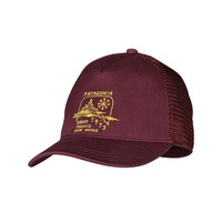 Patagonia Women's Snow Belt Layback Trucker Hat | Oxblood Red