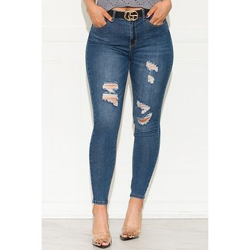 Clear View Skinny Jeans