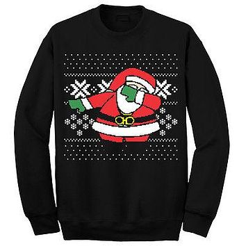 20180Autumn Winter Pullovers Funny Santa Men Women Christmas Sweater Tops Jumper Father Xmas Ugly Xmas Sweaters