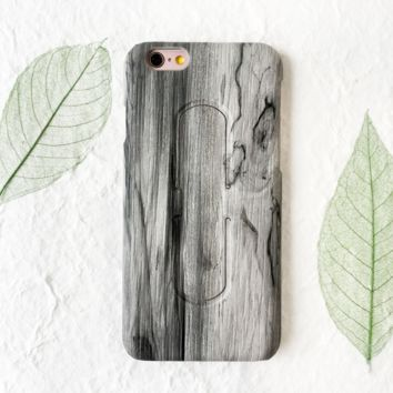 Gray Marble Pattern Iphone 7 7 Plus Cover Case With Phone Stands