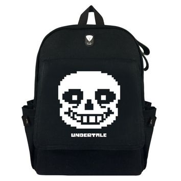 Anime Backpack School HOT kawaii cute JoJo's Bizarre Adventure Harri Potter Undertale backpack School bag Travel Bag Black Shoulder package 11 style AT_60_4