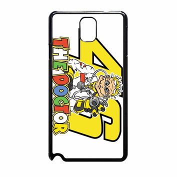 Valentino Rossi The Doctor Logo Samsung Galaxy Note 3 Case